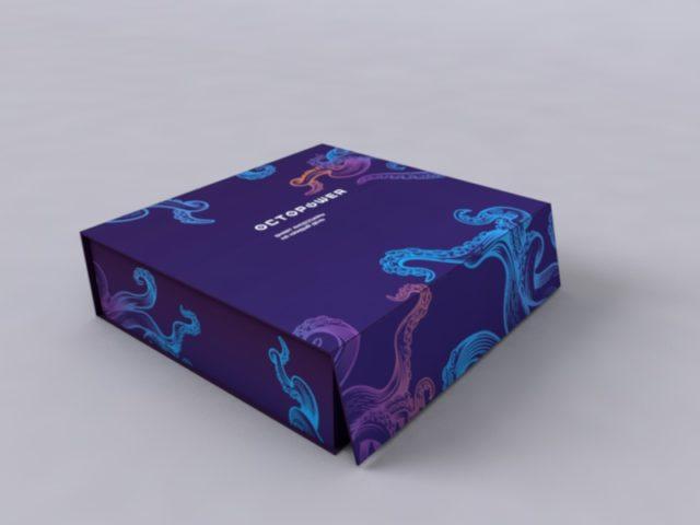 Коробка для образцов со встроенным экраном