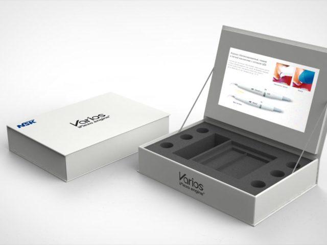 Коробка для образцов с экраном LCD